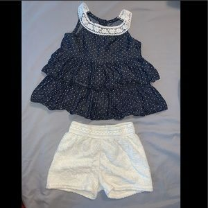 Toddler girls 2pc matching outfit